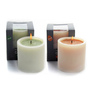 Decoaro Orange Pristine Aroma Candles - Set of 2