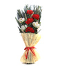 Decoaro Red Bamboo Floral Bunch