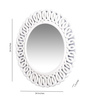 Decorhand MDF White Mirror