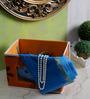 Decorika Canvas Orange 2 L Small Universal Multipurpose Storage Box
