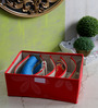 Decorika Red Canvas Clothes Organiser