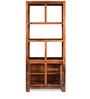 Delmonte Hutch Cabinet in Walnut Finish by @Home