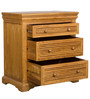 Denver Chest Of Drawers in Brown Oak Colour by HomeTown