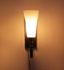 Des Wall Light in White by CasaCraft