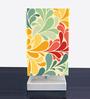 Nutcase Multicolour Fabric Designer Table Lamp