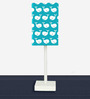 Whale's Designed (21 x 6) Table Lamps in Blue Color by Nutcase