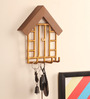 Designmint Gold Metal 6 X 3 X 7 Inch Home Key Holder