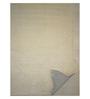 Designs View Beige & Ivory Wool 90 x 60 Inch Hand Tufted Flower Corner Design Area Rug