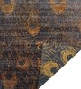 Designs View Multicolour Bamboo Handspun Art Silk 120 x 96 Inch One of a Kind Fine Hand Weave Feather Design Area Rug
