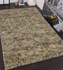 Designs View Multicolour Blended Wool 60 x 36 Inch Hand Made Shaggy Area Rug