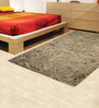 Designs View Multicolour Fine Indian Blended Wool 90 x 63 Inch Hand Tufted Floor Covering Floral Design Carpet