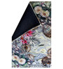 Designs View Multicolour Wool & Cotton 24 x 36 Inch Hand Made Digital Printed Floral Dhurrie