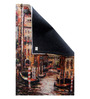 Designs View Multicolour Wool & Cotton 24 x 36 Inch Hand Made Digital Printed Venice Dhurrie