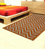 Designs View Orange Fine Indian Blended Wool 60 x 36 Inch Hand Tufted Floor Covering Jiggy Design Area Rug