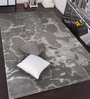 Designs View Silver Wool & Viscose 96 x 60 Inch Hand Tufted Mix Modern Design Carpet
