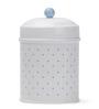 Deziworkz Blue Polka Dot Cookie Jar set of 2