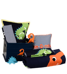 Dino Bed-in-a-Box Kids Set by FlyFrog