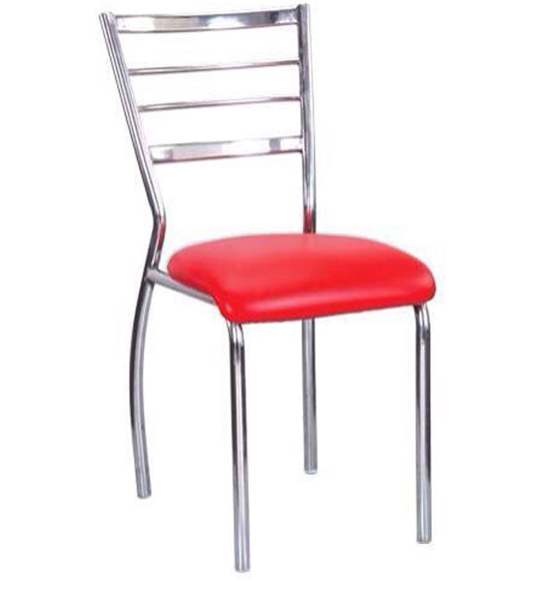 Buy Dining Metal Chair With Red Upholstery By Exclusive Furniture Online Metal Chairs Chairs