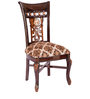 Dining Chair in Dark Brown Colour by Karigar