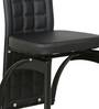 Dining Chair Set of 2 in Black Colour by Parin