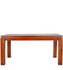 Elkhorn Solid Wood Six Seater Dining Set in Honey Oak Finish by Woodsworth