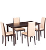 Michelle Four Seater Dining Set by Parin