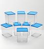 Disha Blue 600 ML (Each) Storage Container - Set of 8