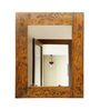 Lidia Minimalist Mirrors in Brown by CasaCraft