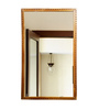 Luciano Minimalist Mirrors in Brown by CasaCraft