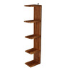Valerio Contemporary Wall Shelf in Brown by CasaCraft