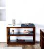 Dixon Console Table in Provincial Teak Finish by Woodsworth