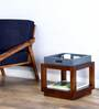 Dixon End Table in Provincial Teak Finish by Woodsworth