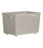 DKW Senn Grey Polypropylene 9 L Storage Basket