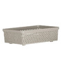 Dkw Senn Grey Polypropylene 1 L Storage Basket