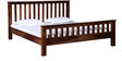 Dalton King Bed in Provincial Teak Finish by Woodsworth
