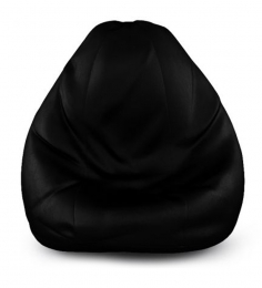 Dolphin Black Bean Bag Cover (Without Beans)