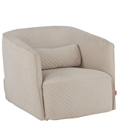 Dorian Occassional Chair in Beige Colour by @home