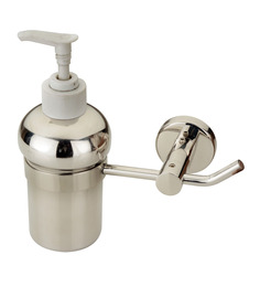 Doyours Glossy Stainless Steel 3.5 x 3.5 x 5.9 Inch Soap Dispenser