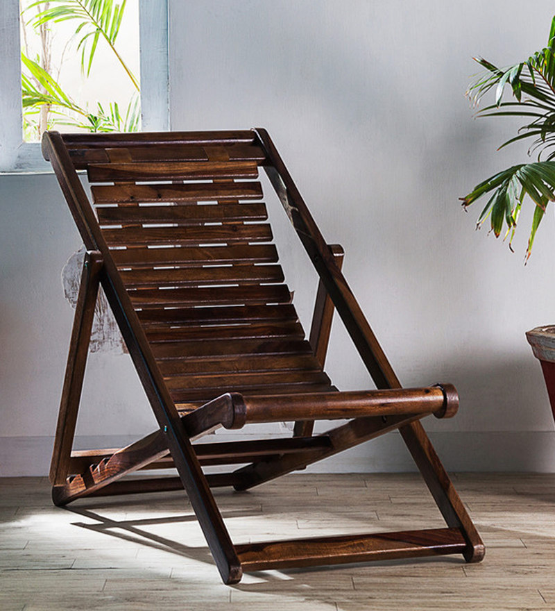 Buy Doncaster Folding Chair In Provincial Teak Finish By