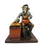 Earth Multicolor Polyresin Doctor Ganesha Statue