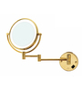 Dolphy Golden Brass and Stainless Steel Bath Mirror