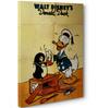 Donald Duck Penguin Canvas Poster
