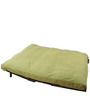 Double Futon Sofa Cum Bed With Mattress- GREEN by ARRA