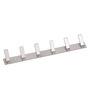 Doyours Chrome White Metal Multipurpose Hook Rail