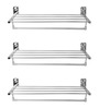 Doyours Glossy Stainless Steel 24 Inch Towel Rack - Set of 3