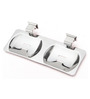 Doyours Glossy Stainless Steel 11.2 x 4.7 x 1.1 Inch Soap Dish