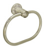 Doyours Oval Glossy Stainless Steel 7.8 x 1.5 x 3.1 inch Towel Ring