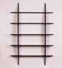 Dream Arts Brown MDF Bow Rack Wall Shelf