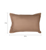 Dreamscape Brown Cotton 27 x 17 Inch Pillow Cover - Set of 2