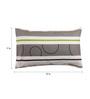 Dreamscape Multicolour Cotton 17 x 27 Pillow Cover - Set of 2